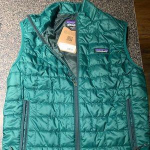 Men's Patagonia Vest Green XS